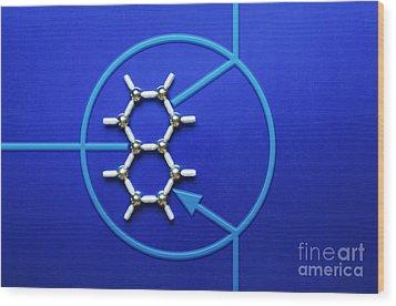 Graphene Transistor Wood Print by GIPhotoStock