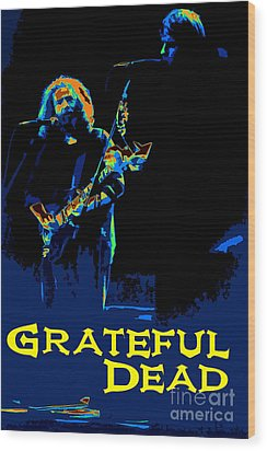 Grateful Dead - In Concert Wood Print