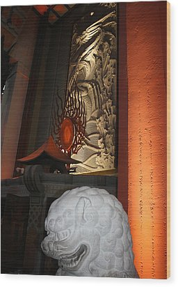 Grauman's Chinese Theatre Wood Print