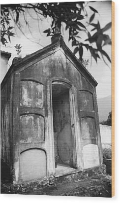 Wood Print featuring the photograph Grave by Amarildo Correa
