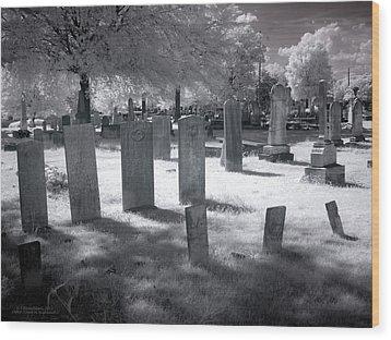 Graveyard Wood Print by Terry Reynoldson