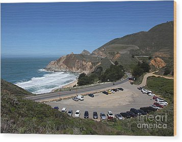 Gray Whale Cove State Beach Montara California 5d22616 Wood Print by Wingsdomain Art and Photography