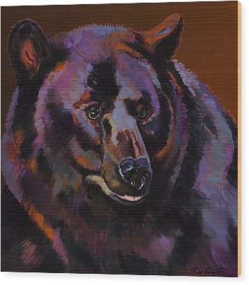 Great Bear Wood Print by Bob Coonts
