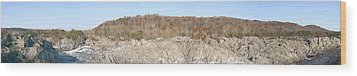 Great Falls Va - 121257 Wood Print by DC Photographer