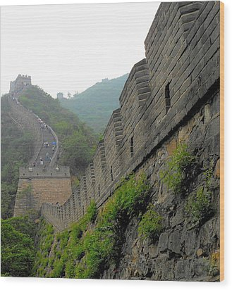 Great Wall 1 Wood Print by Kay Gilley