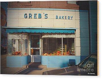 Greb's Bakery Pittsburgh Wood Print by Jim Zahniser