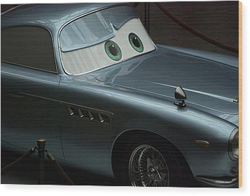 Green Eyed Finn Mcmissile Wood Print by Thomas Woolworth