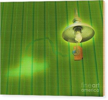 Green Light Wood Print by John King