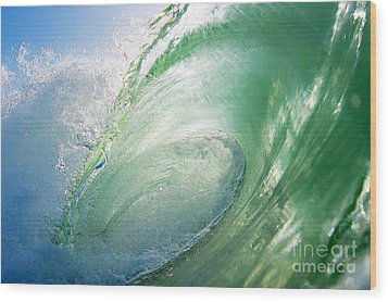 Wood Print featuring the photograph Green Machine by Paul Topp