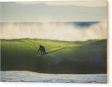 Wood Print featuring the photograph Green Monster C6j9362 by David Orias