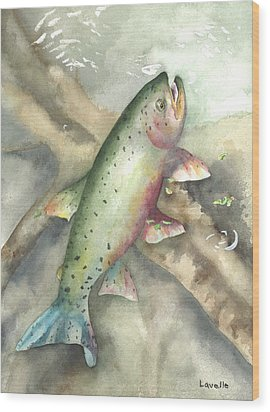 Greenback Cutthroat Trout Wood Print by Kimberly Lavelle