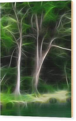 Greenbelt Wood Print by Wendy J St Christopher