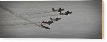 Greenwood Lake Airshow Northeast Raiders Wood Print