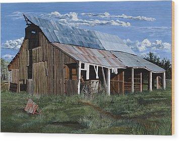 Greive's Barn Wood Print