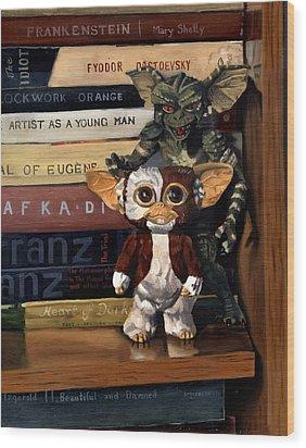Gremlins Wood Print