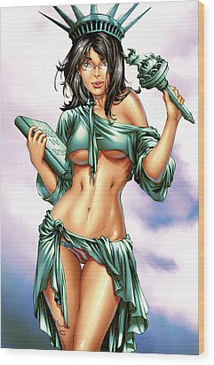 Grimm Fairy Tales 2012 Giant Sized Edition Nycc Exclusive Wood Print by Zenescope Entertainment
