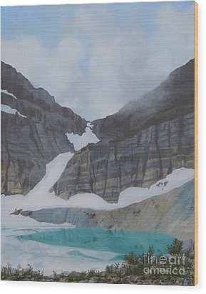 Grinnell Glacier Wood Print