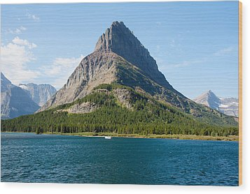 Grinnell Point Wood Print by John M Bailey
