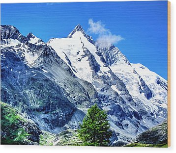 Grossglockner Wood Print by Andreas Thust