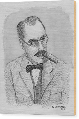 Groucho Wood Print