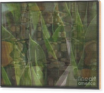Growing Season Wood Print by Kathie Chicoine