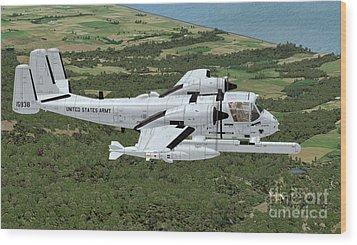 Grumman Ov-1 Mohawk Wood Print