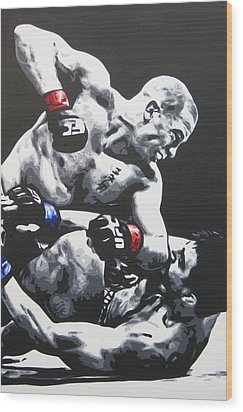 Gsp Ground N Pound Wood Print