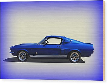 Wood Print featuring the photograph Gt350 Mustang by Keith Hawley