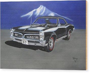 Gto 1967 Wood Print