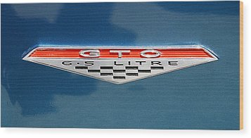 Gto 6.5 Wood Print by Morris  McClung