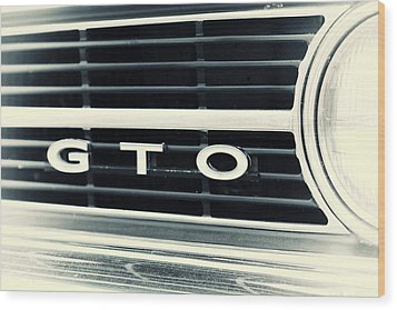 GTO Wood Print by Karol Livote