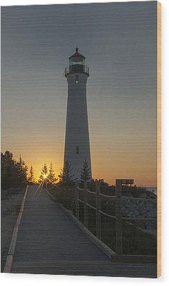 Guiding Light  Wood Print