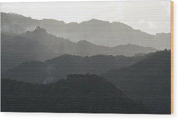 Guilarte Wood Print by Ricardo J Ruiz de Porras