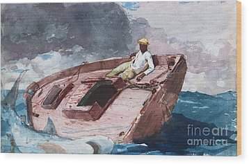 Gulf Stream 2 Wood Print by Pg Reproductions