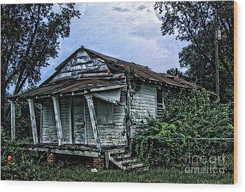 Gus Mitchell II - No.2468h Wood Print