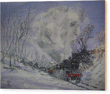 Gwr 4277 Wood Print