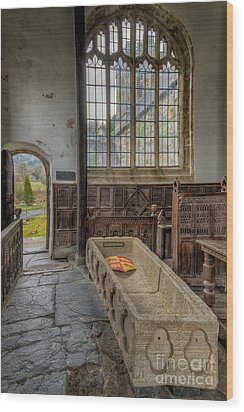 Gwydir Chapel Wood Print by Adrian Evans