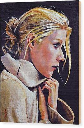 Gwyneth Wood Print by Anthony Sell