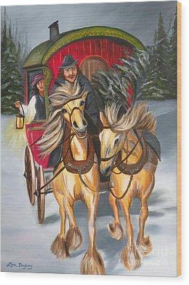 Gypsy Christmas Wood Print
