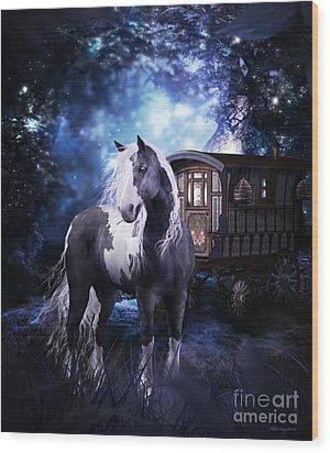 Gypsy Dreaming Wood Print