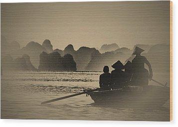 Ha Long Bay Wood Print by Jose Carlos Fernandes