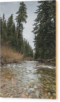 Hackleman Creek  Wood Print