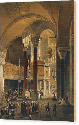 Haghia Sophia, Plate 8 The Imperial Wood Print by Gaspard Fossati