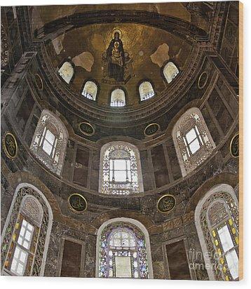 Hagia Sofia Interior 06 Wood Print