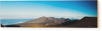 Wood Print featuring the photograph Haleakala by Cathy Donohoue