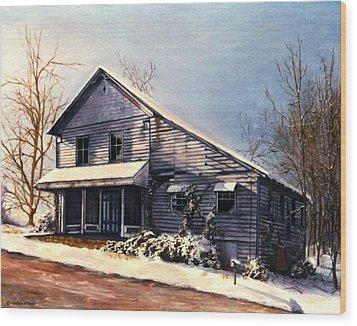 Hale's Store Wood Print