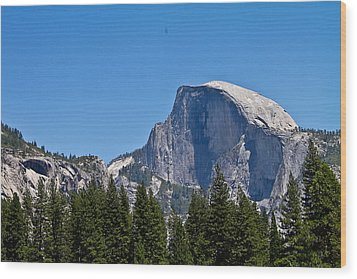 Half Dome Wood Print by Brian Williamson