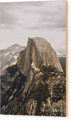 Half Dome Wood Print by Kathleen Struckle