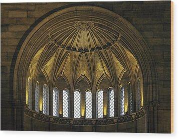 Half Dome Wood Print by Lynn Palmer