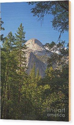 Half Dome Yosemite Wood Print by Jane Rix